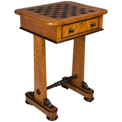 19th Century English Game Table