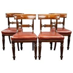 19th Century English George III Mahogany Dining Chairs