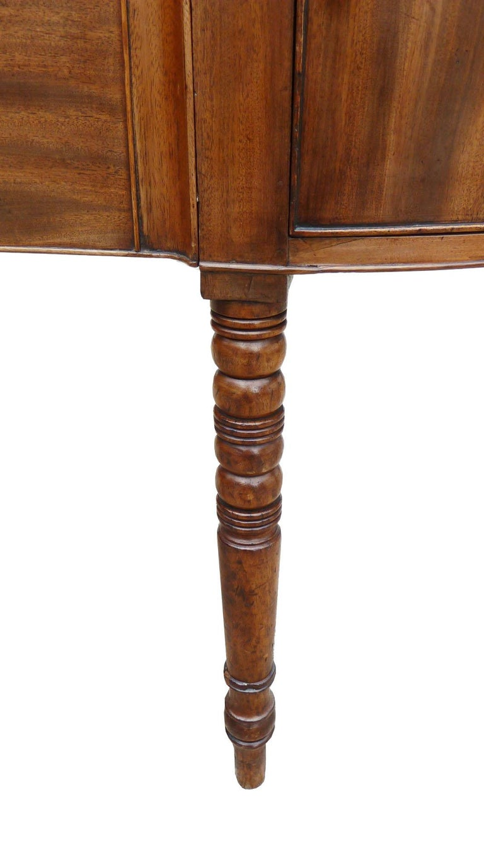 19th Century English George III Mahogany Sideboard For Sale 1