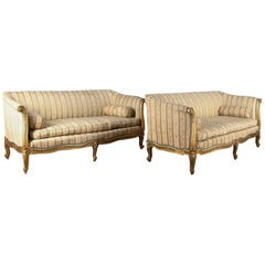 19th Century English Giltwood Sofas
