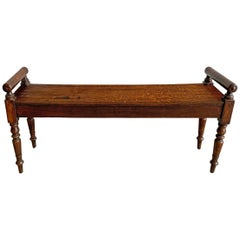 19th Century English Hall Bench