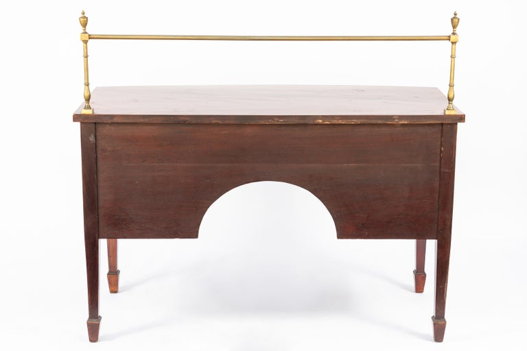 19th Century English Inlaid Sideboard For Sale 8