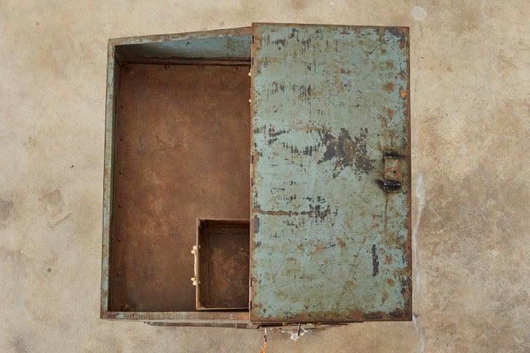 19th Century English Iron Bronze Industrial Davenport Desk For Sale 11