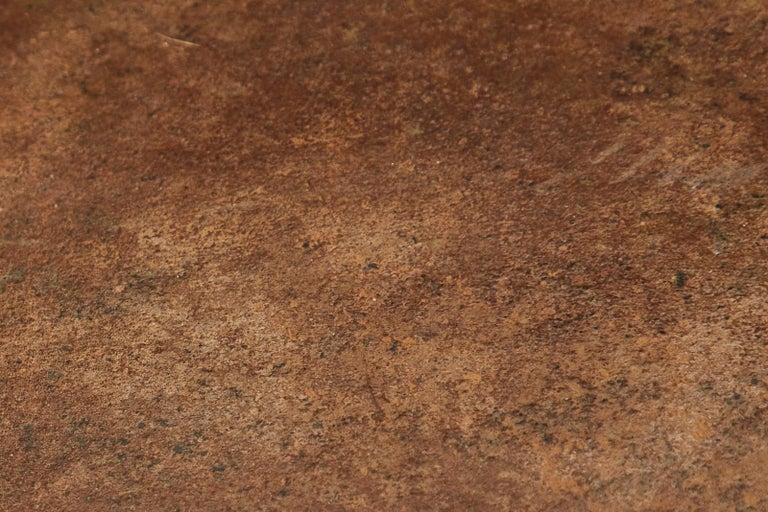 19th Century English Iron Bronze Industrial Davenport Desk For Sale 15