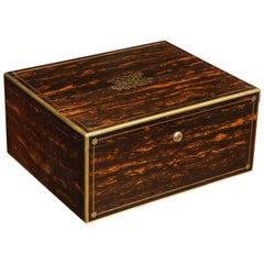 19th Century English Jewelry Box by Hunt and Roskell, Jewelers to the Queen