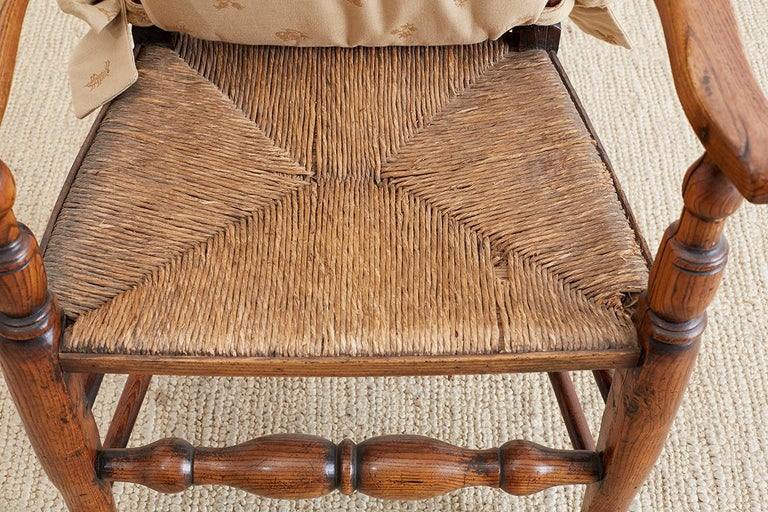 19th Century English Ladder Back Chair For Sale 7