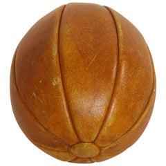 19th Century English Leather Ball