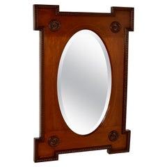 19th Century English Mahogany Mirror