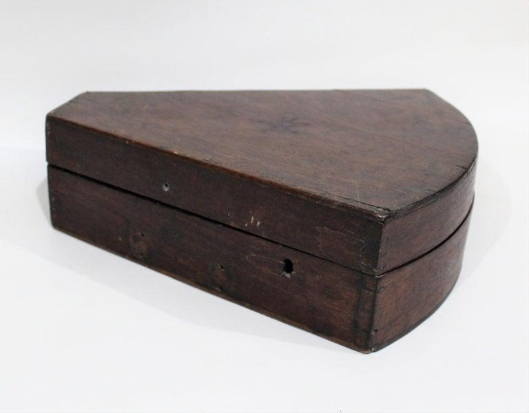 19th Century English Marine Surveyors Brass Sextant For Sale 5