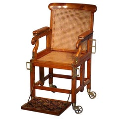 19th Century English Military Campaign Chair