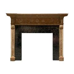 19th Century English Neoclassical Mantel