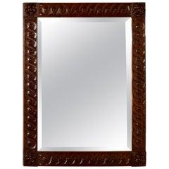 19th Century English Oak Mirror
