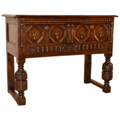 19th Century English Oak Sideboard