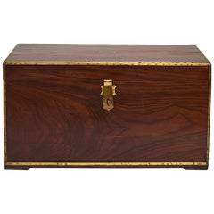 19th Century English Officer Colonial Military Chest