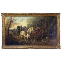 19th Century English Oil Painting
