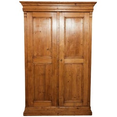 19th Century English Pine Cupboard or Cabinet