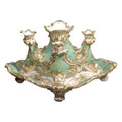 19th Century English Porcelain Epergne