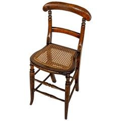 19th Century English Posture/Discipline Chair, Circa 1860