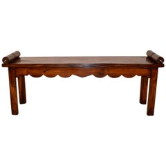 19th Century English Regency Bench