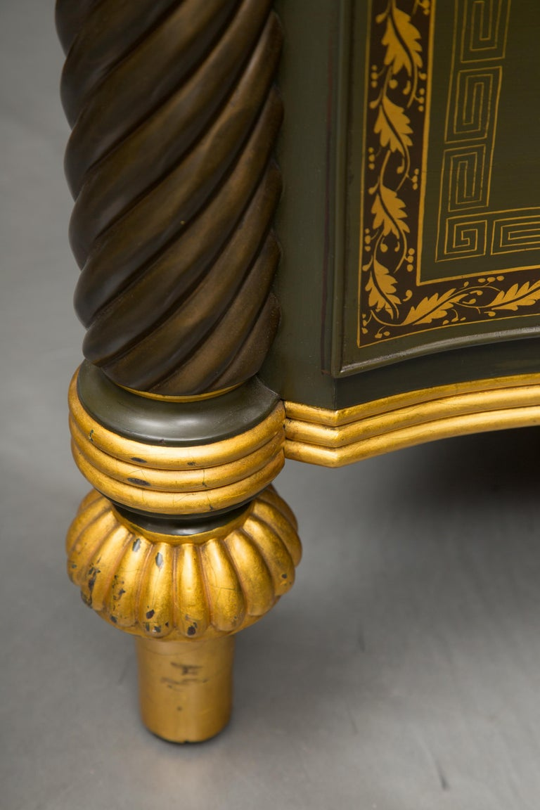 19th Century English Regency Chest of Drawers  Later Custom Painted For Sale 2