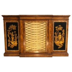 19th Century English Regency Chinoiserie Credenza/Console