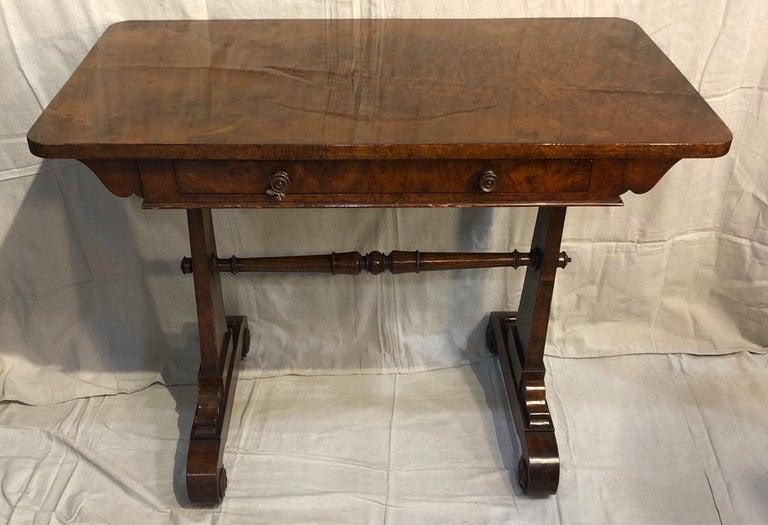 19th Century English Regency Hardwood Sofa Table For Sale 2