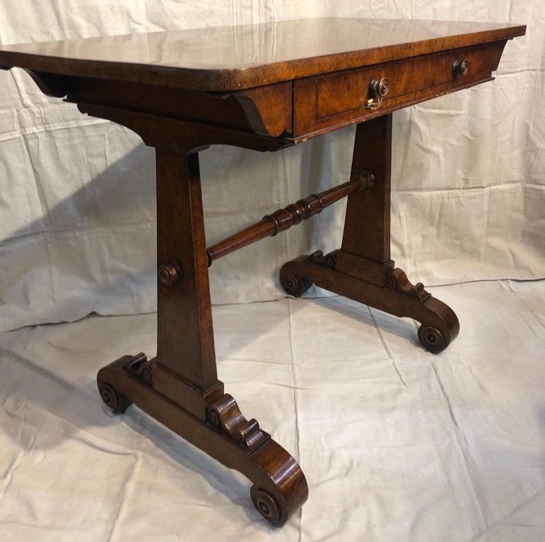 19th Century English Regency Hardwood Sofa Table For Sale 3