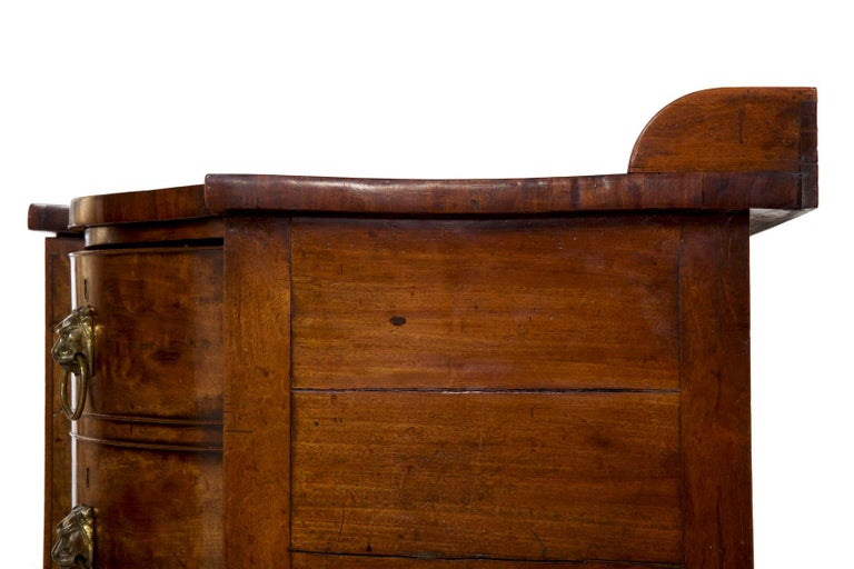 19th Century English Regency Period Antique Sideboard For Sale 9