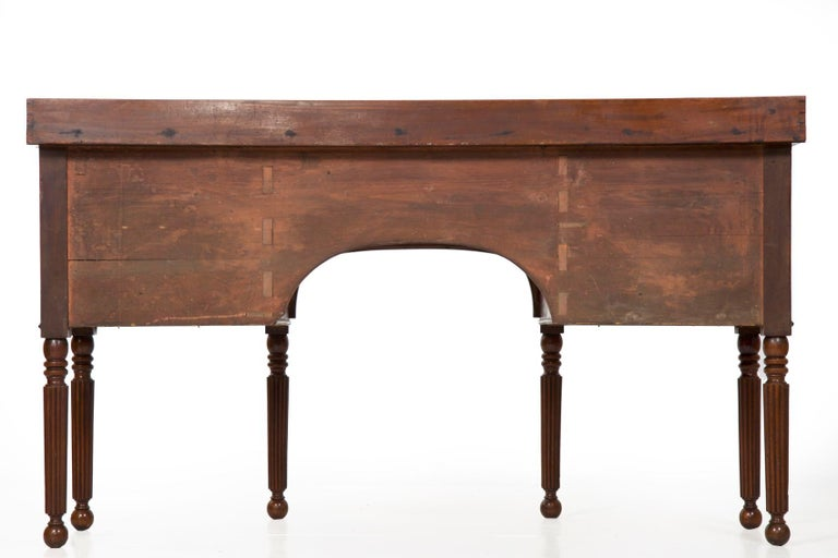 19th Century English Regency Period Antique Sideboard For Sale 2