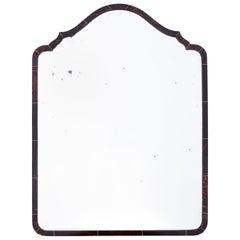 19th Century English Regency Period Inlaid Tortoiseshell Mirror