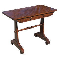 19th Century English Regency Hardwood Sofa Table