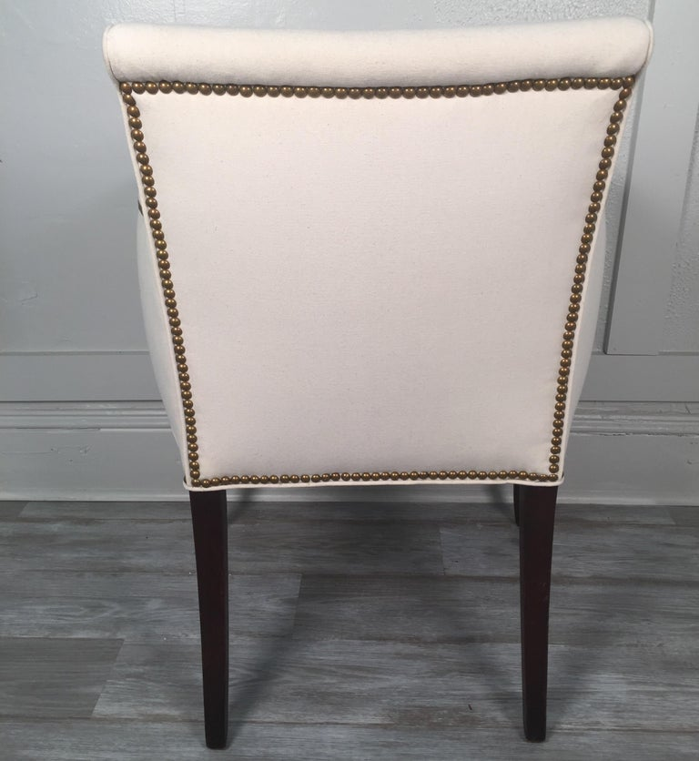 19th Century English Regency Style Armchair For Sale 5
