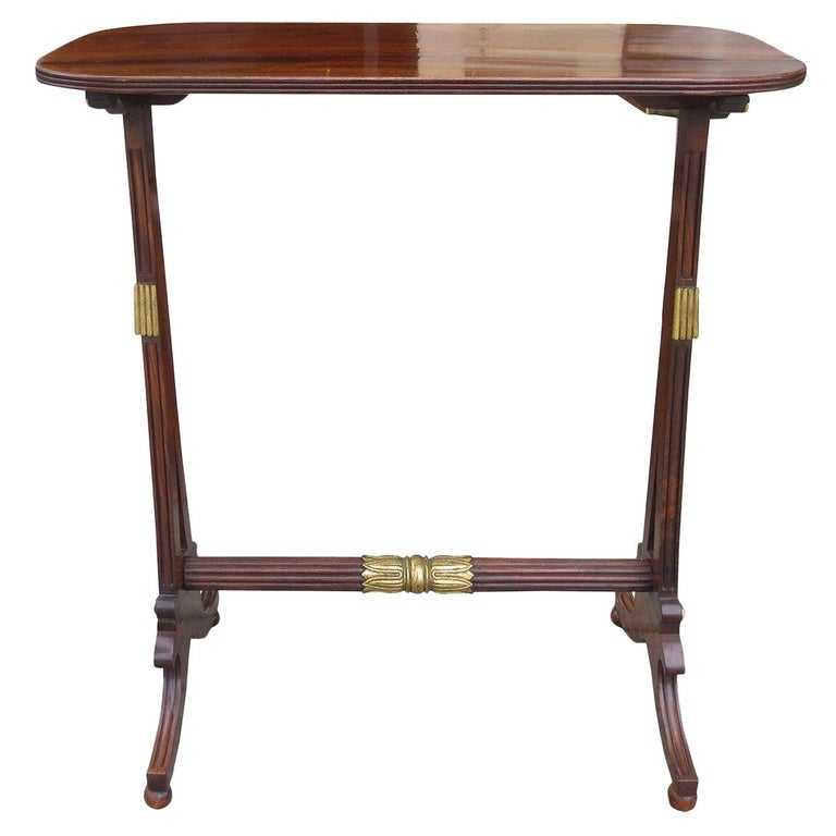 19th Century English Regency Table For Sale