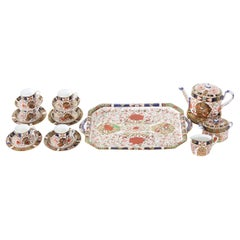19th Century English Royal Crown Derby Service for Six