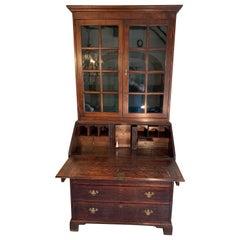 19th Century English Secretary Bookcase