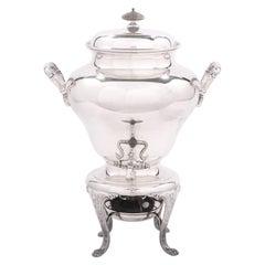 19th Century English Silver Plate Samovar / Tea Urn