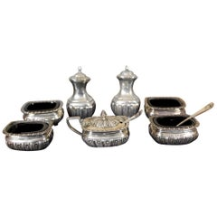 19th Century English Silver Set