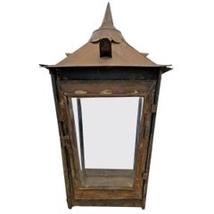 19th Century English Street Lamp