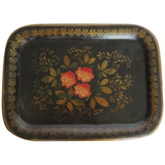 19th Century English Tole Serving Tray