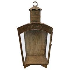 19th Century English Tole Wall-Mount Lantern