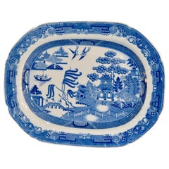 19th Century English Transfer Platter