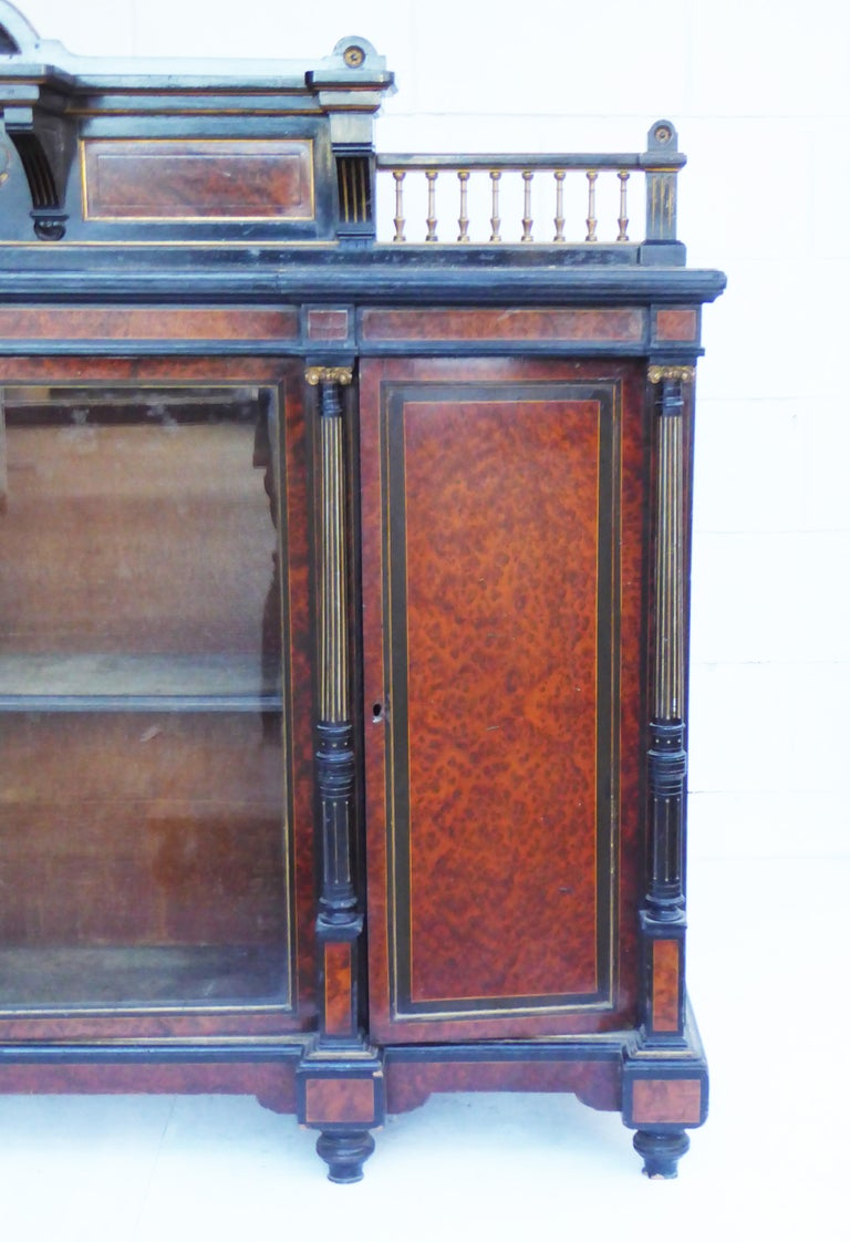 European 19th Century English Victorian Aesthetic Movement Credenza by Gillows For Sale