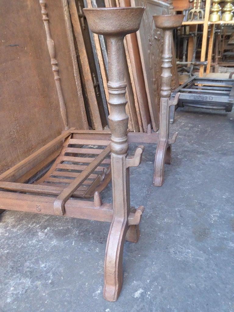 19th Century English Victorian Fireplace Grate or Fire Grate For Sale 1