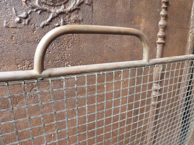 19th Century English Victorian Fireplace Screen or Fire Screen For Sale 4