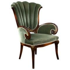 19th Century English Victorian Parlour Chair