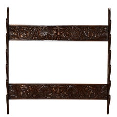 19th Century English Wall Rack