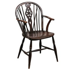 19th Century English Windsor Elm Chair