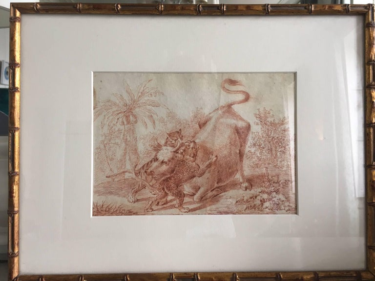 19th Century Engraving in an Orientalist Theme In Good Condition For Sale In Bordeaux, FR