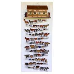 19th Century Erzgebirge Noah's Ark