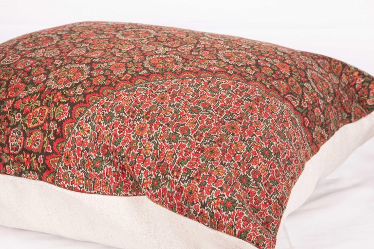 19th Century European Paisley Wool Pillow For Sale 1